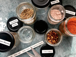 Low Waste: Up-cycled Jars