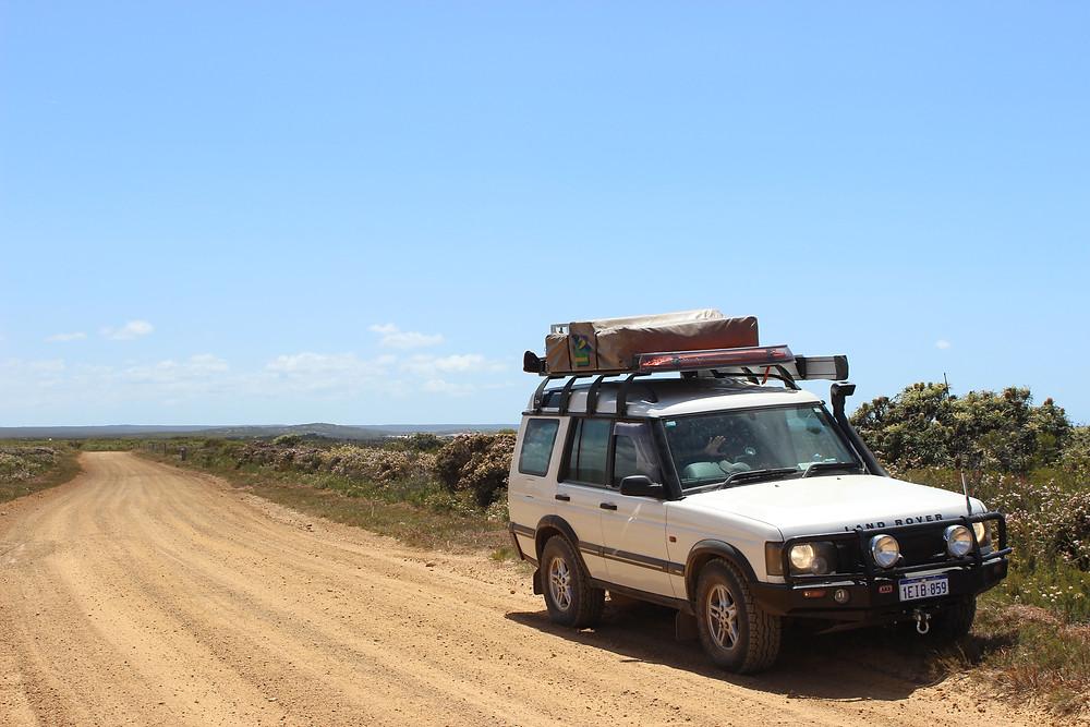 Gary exploring Cape Arid