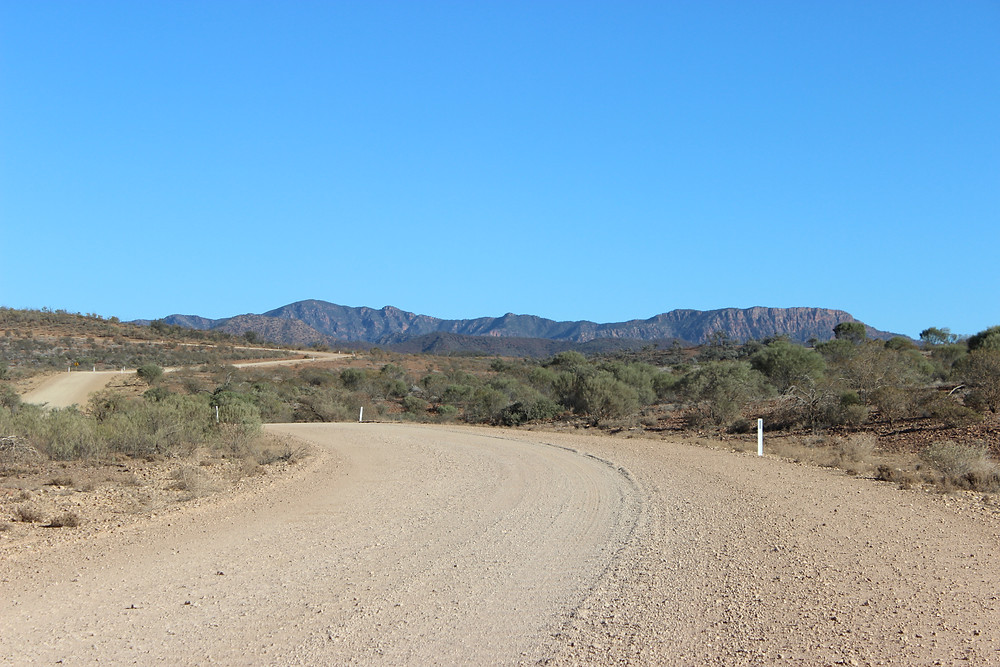 A Winding Road back out of Desert Country. For Now.