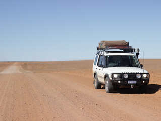 Blog 19: New South Wales, South Australia, Queensland & The Northern Territory - Tibooburra to A