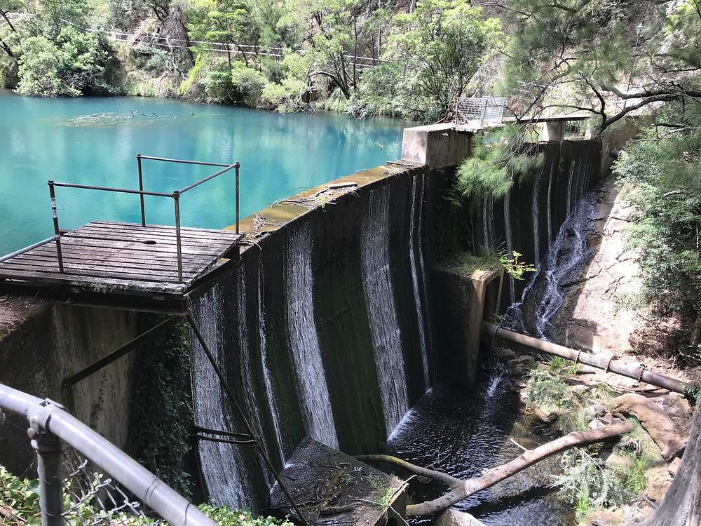 Blue Mineral-ey lake