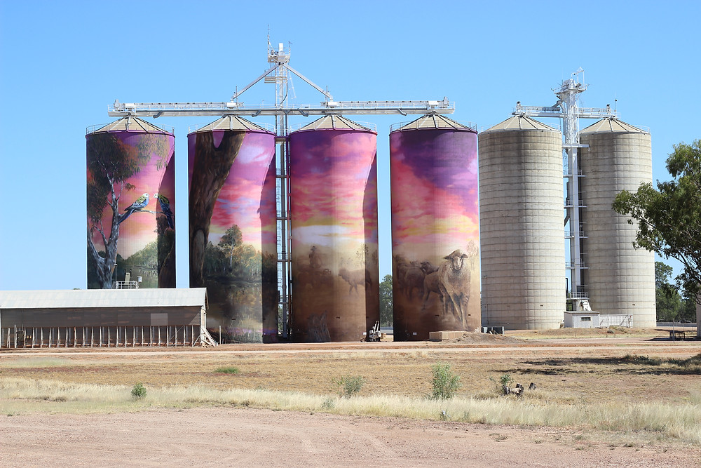 Silo Art at Thallon