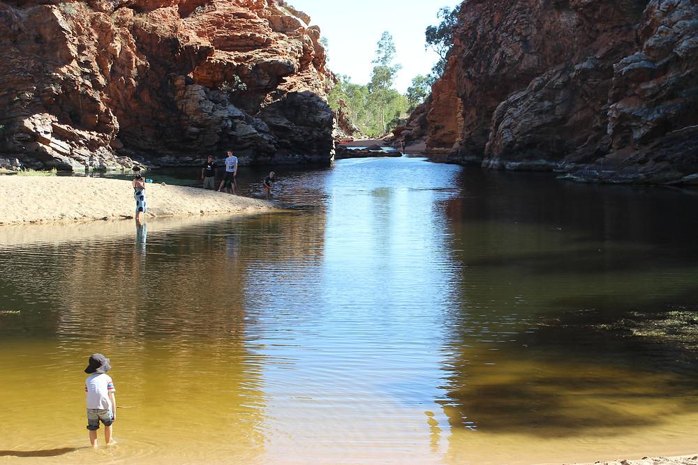 Ellery Creek Big Hole - Nice to Swim in