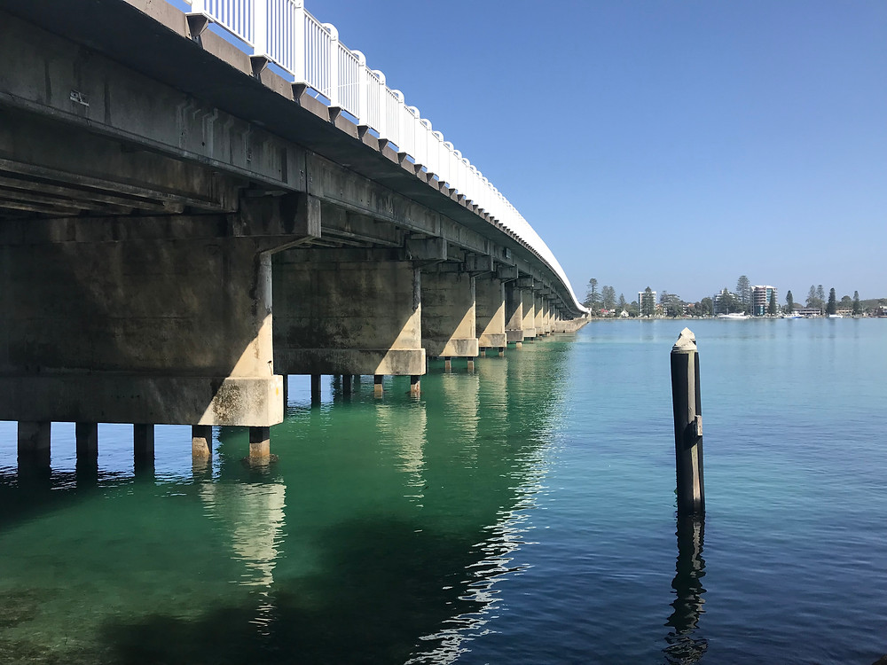 Bridgey between Tuncurry and Forster.