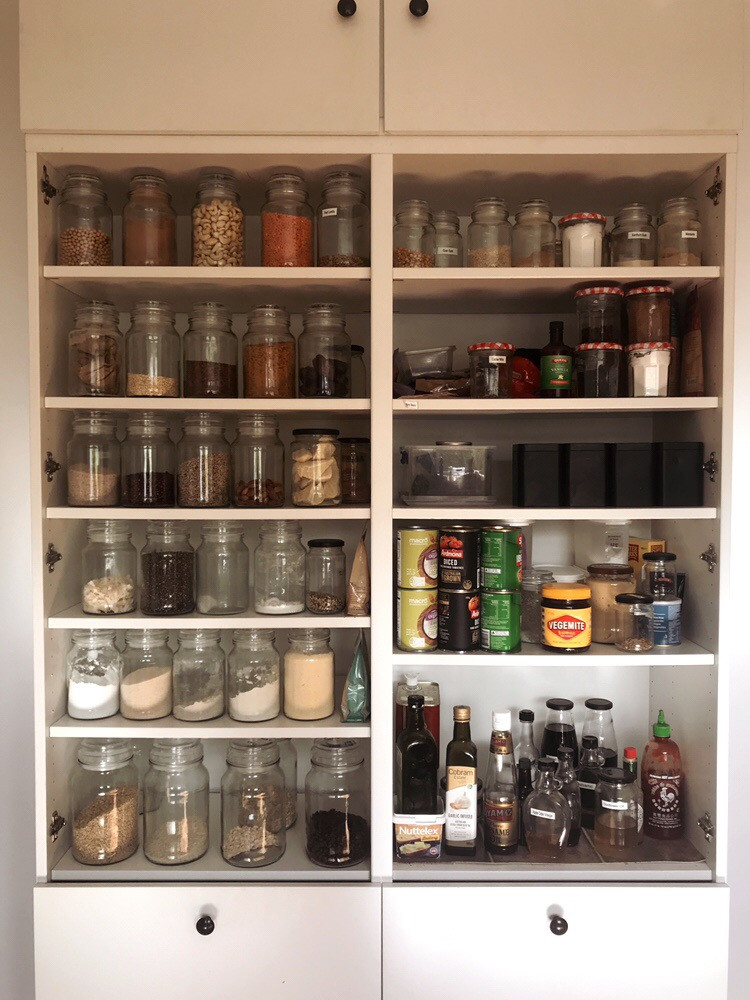 Room for jars of things
