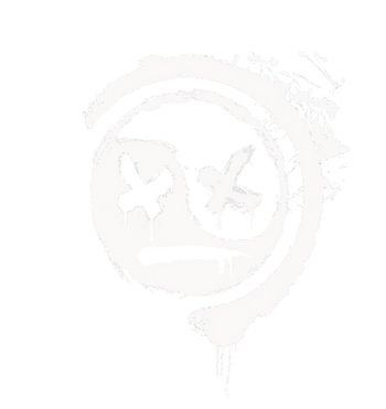 DEFACED FACE LOGO (WHITE NO BG).png