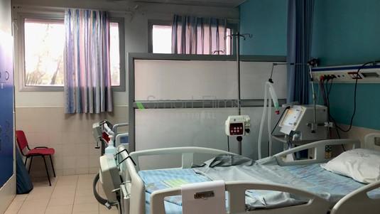 מחיצת זכוכית חכמה בית חולים רבקה