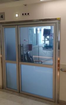 זכוכית חכמה בית חולים מאיר