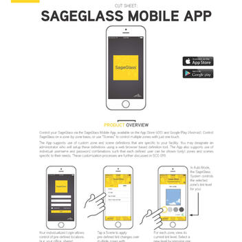 SageGlass Mobile App