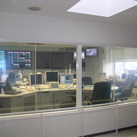 זכוכית חכמה, חדר שליטה ובקרה