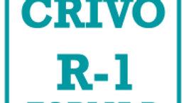 R-1 Forma-B Crivo de Correção