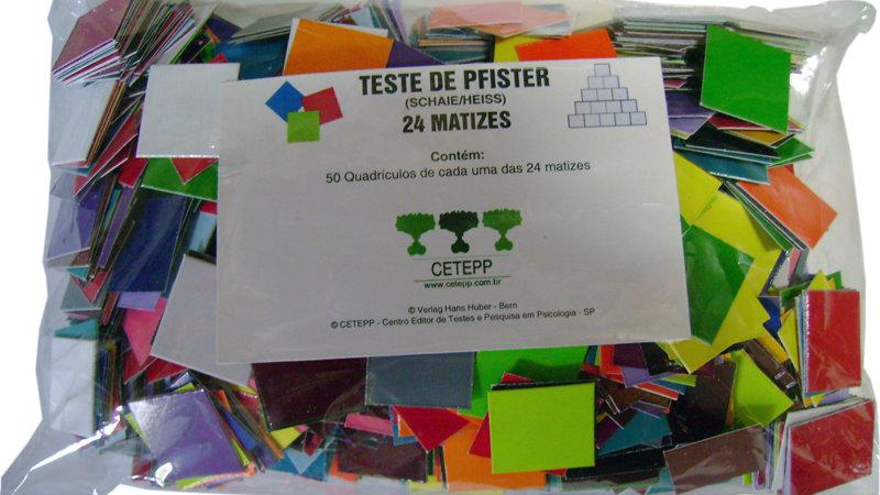 PFISTER - As Pirâmides Coloridas de Pfister - Quadrículos