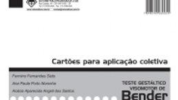 Bender Ficha para Aplicação Coletiva - B-SPG