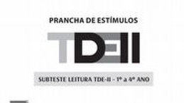 TDE II - Prancha de Estimulos Leitura 1º ao 4º ano