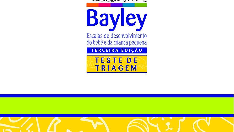Bayley III - Lista de verificação de observação Teste de Triagem