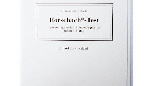 Conjunto de Pranchas do Teste Rorschach