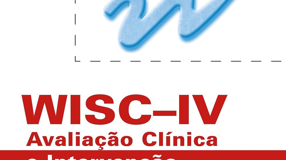 WISC-IV - Avaliação Clínica e Intervenção