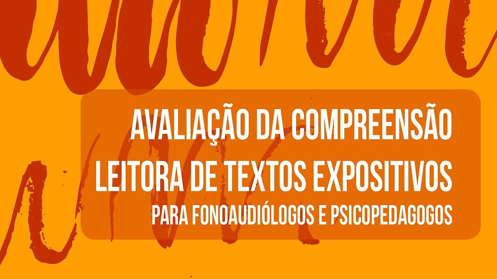 Avaliação da compreensão leitora de textos expositivos -Kit