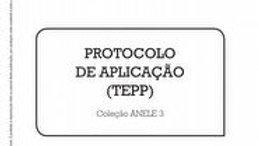 Anele 3 - TEPP - Protocolo de Aplicação