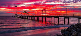 Brighton Jetty Historic South Australia SALA 2020 Fineart Photography creativelightartist Mark Gary Weston