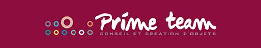 Logo agence Prime team