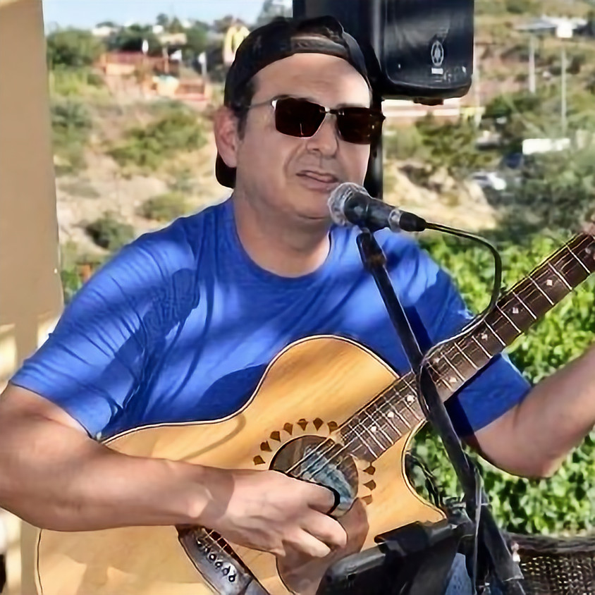 Live Guitar Music at the Vineyard - Reuben Gonzales