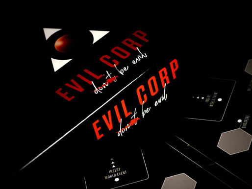 Evil Corp: will you be the corrupt CEO that becomes the ruler of a brave new world?