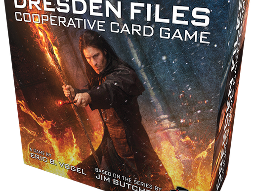 Looking into The Dresden Files... with our game review