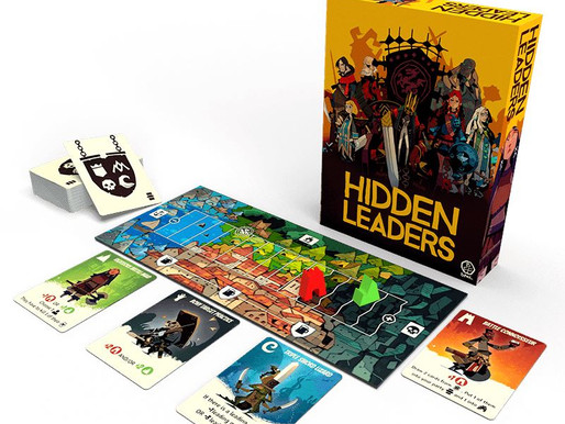 Keep your identity secret - we review Hidden Leaders by BFF Games an upcoming Kickstarter (updated)