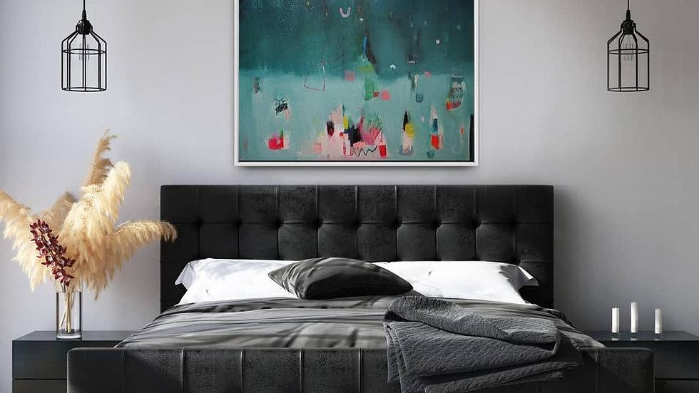 abstract art for bedroom, irish art