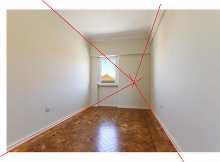 Como tirar foto imobiliária para Home Staging Virtual