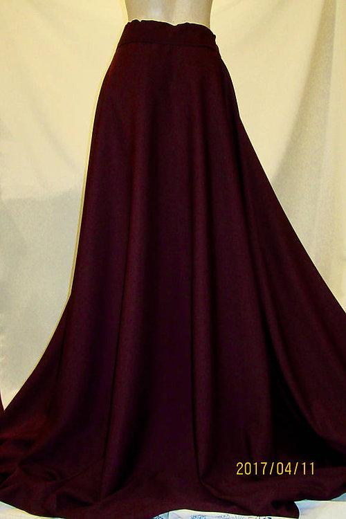 Full circle maxi dress