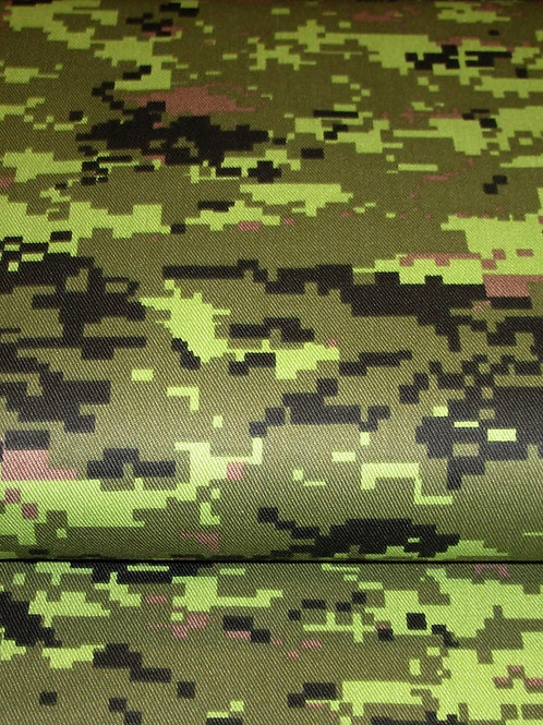 Camouflage Fabric~Cotton camouflage Green Fabric ~