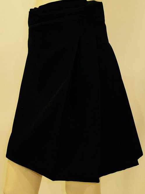 Solid Black Ladies Mini Kilts~