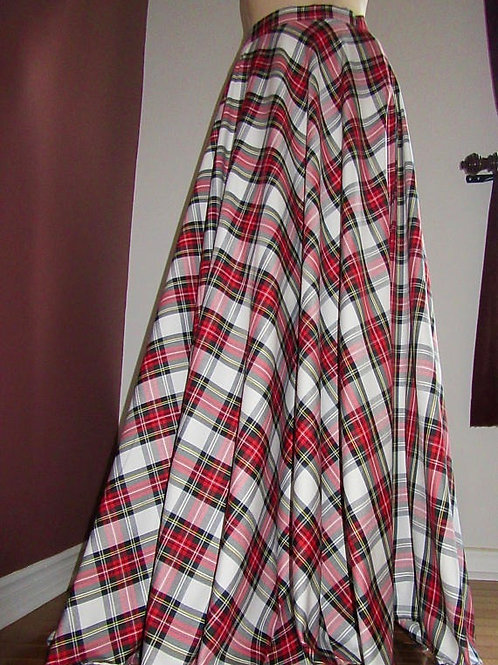 Dress Stewart Floor Length Skirt ~ Full circle skirt w/ Side Pocket
