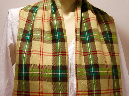 Men's Saskatchewan Plaid Fringe Scarf   (40' x 9')