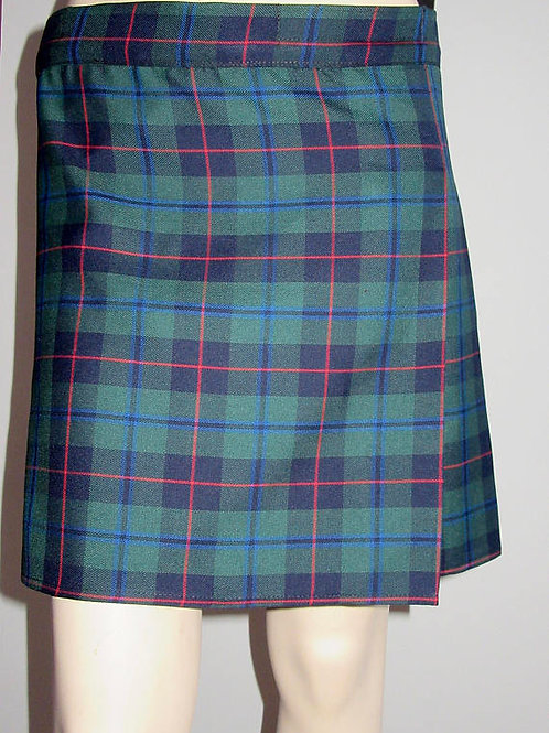 Armstrong Tartan Plaid Kilt ~ Green Red Black Kilt