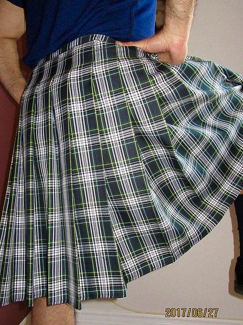 Men's Dress Gordon Plaid Kilt~Scottish Plaid Kilt~St. Patrick Kilt