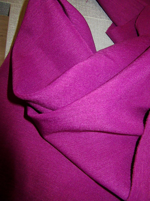 Violet Colour Poly Viscose Fabric by Yard