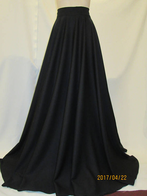 charcoal maxi skirt dress ala
