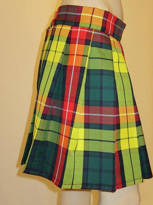 "Modern Buchanan Tartan Plaid Pleated Mini Skirt~14"" Long Plaid Plus Sz skirts"