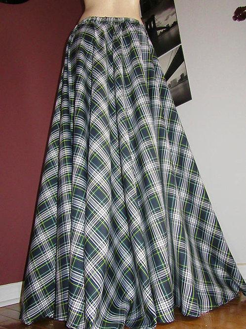 Dress Gordon Circle Skirt Skirt~St. Patrick Maxi Skirt
