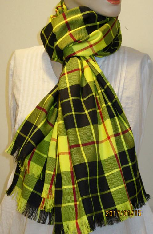 e905d97a5a65e MacLeod of Lewis Tartan Plaid Fringe Scarf ~ Blanket Scarf~