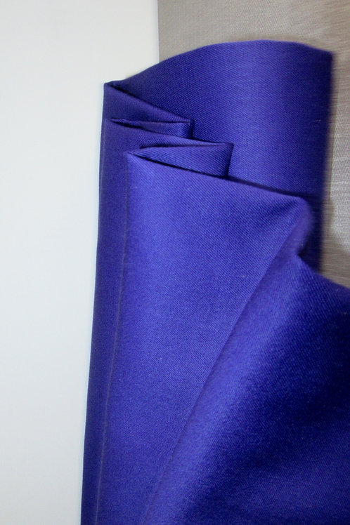 Pure Wool Purple Color Fabric by Yard Fabric