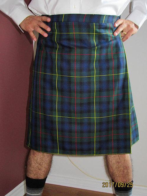 Modern Macleod of Harris Kilt~Highland Games Plaid Kilt~Plus Size Kilts