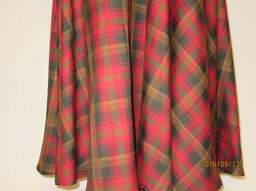 Maple Leaf Full Length Circle Skirt~Wedding Wear Circle skirt~Prom Party Wear