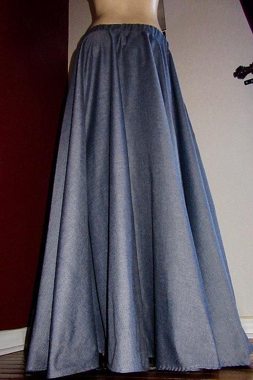 Light Grey Full Circle Skirts