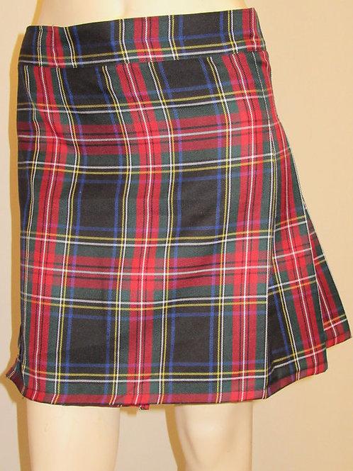 Black Stewart Ladies Kilt~Small to Plus Size