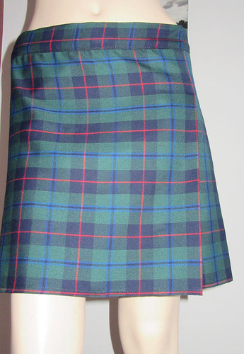7d3fe525a Armstrong Tartan Plaid Kilt ~ Green Red Black Kilt