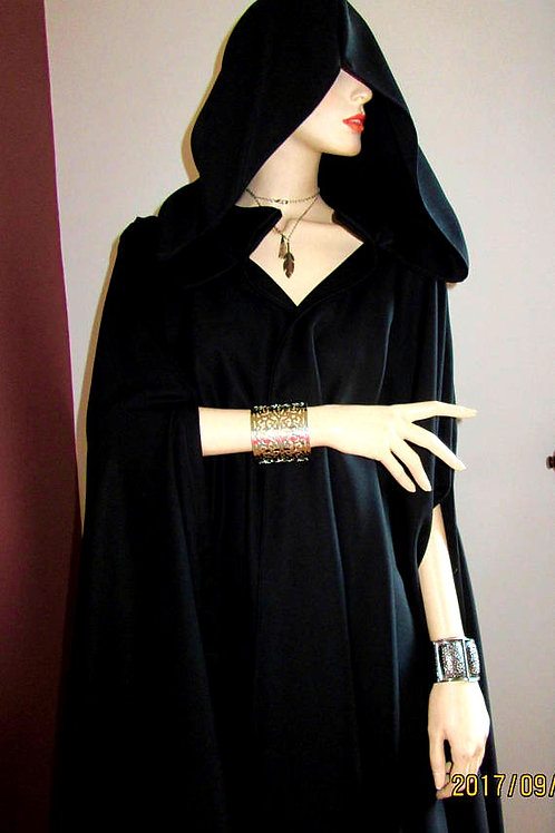 Wonder Woman Full Circle ~ Gabardine  Wool Cloak